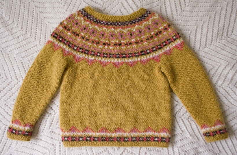 Free knitting pattern! ?Fimma? Icelandic sweater (kids ...
