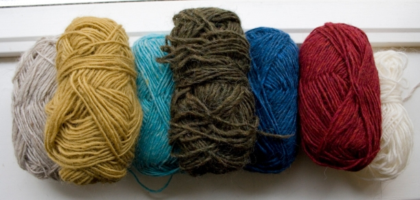Léttlopi wool colours
