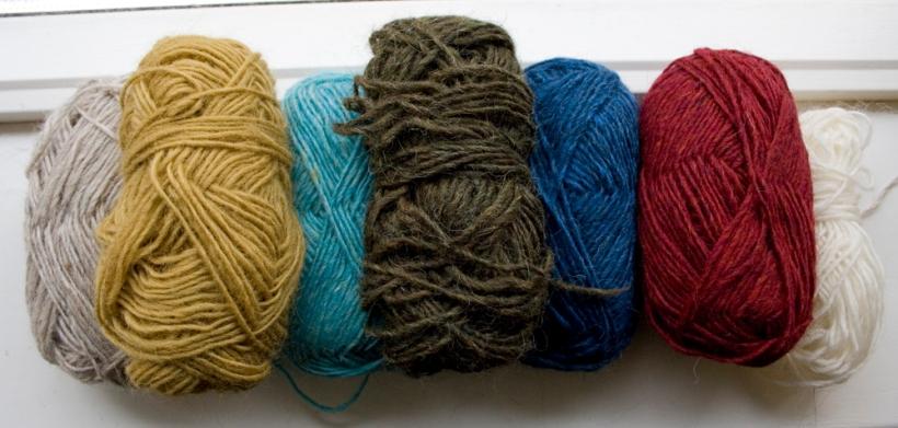 Léttlopi wool colours